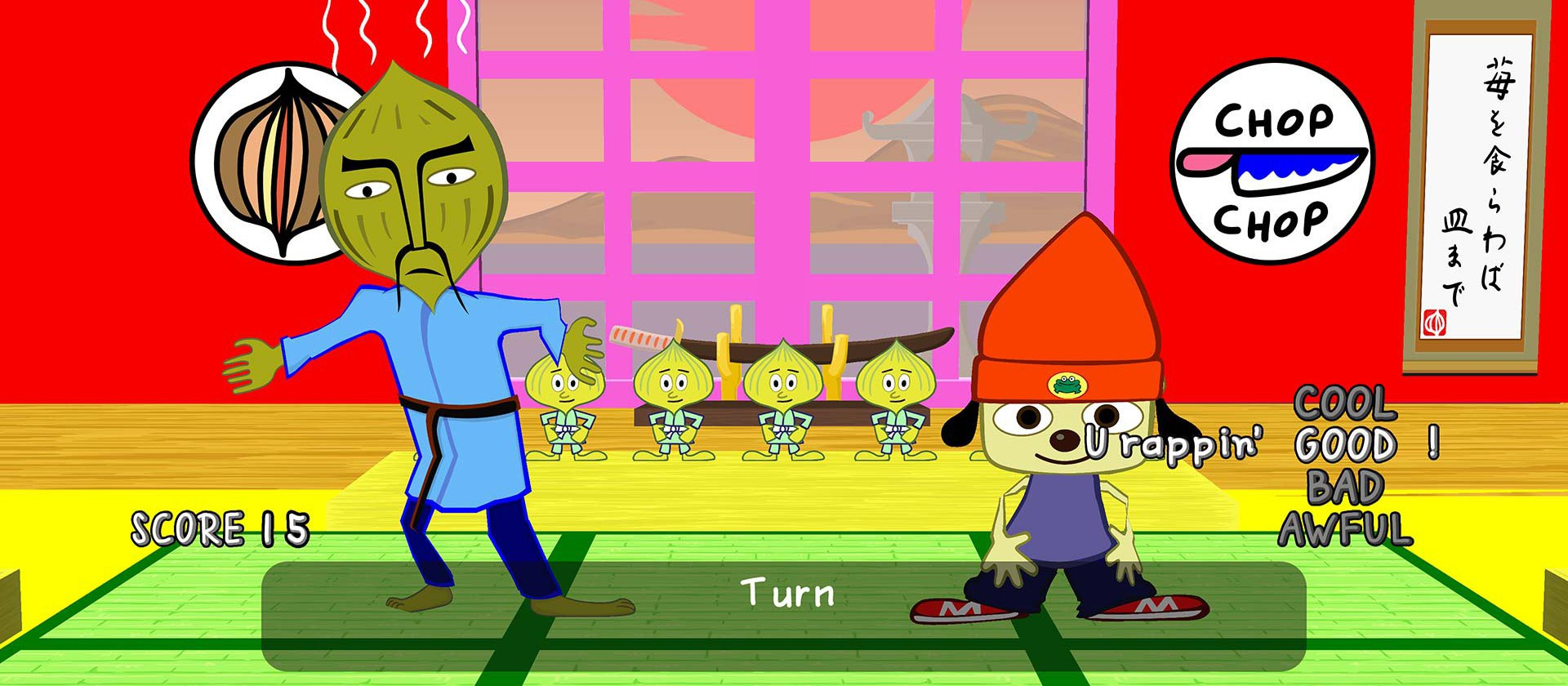 PaRappa : stage 1