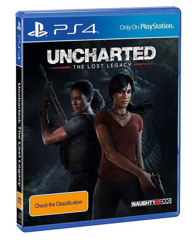 Uncharted The Lost Legacy Box Art