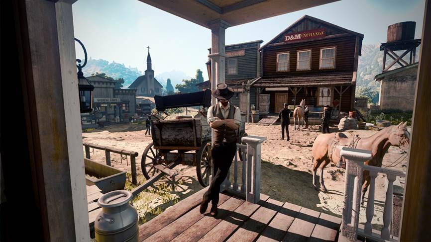Red Dead Redemption screenshot leak