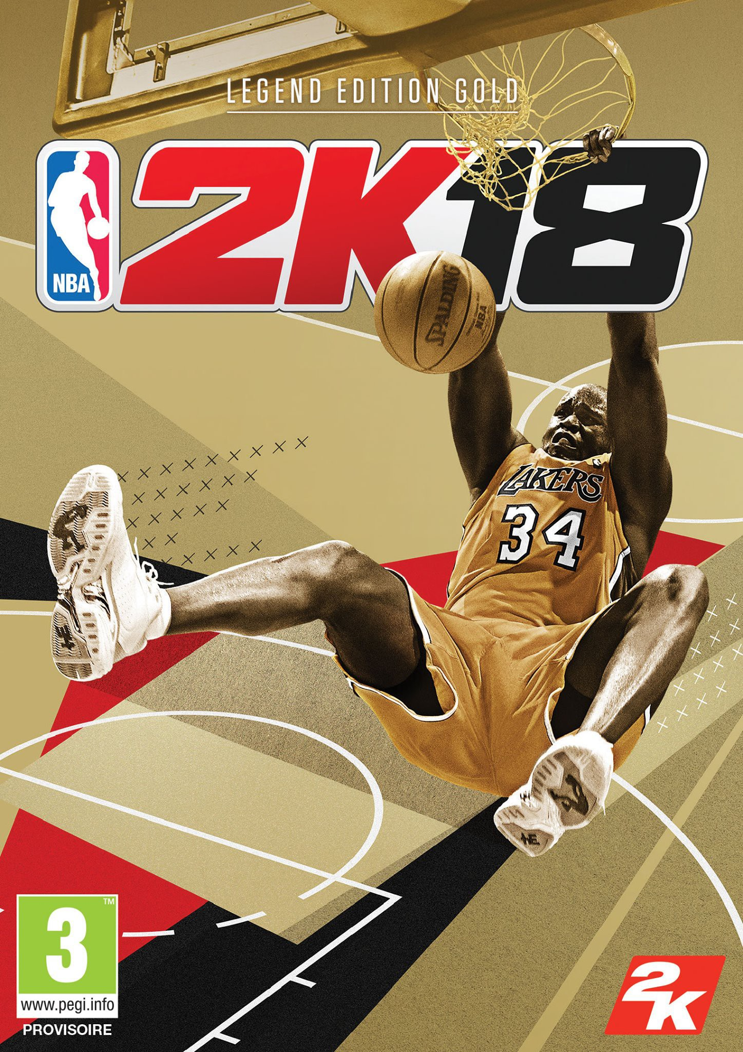 "NBA 2K18 édition Légende ""Gold"""