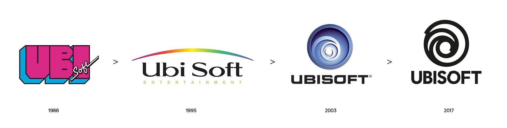 Historique des logos Ubisoft