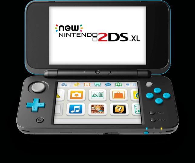 La New 2DS XL, une console qu'elle est cool