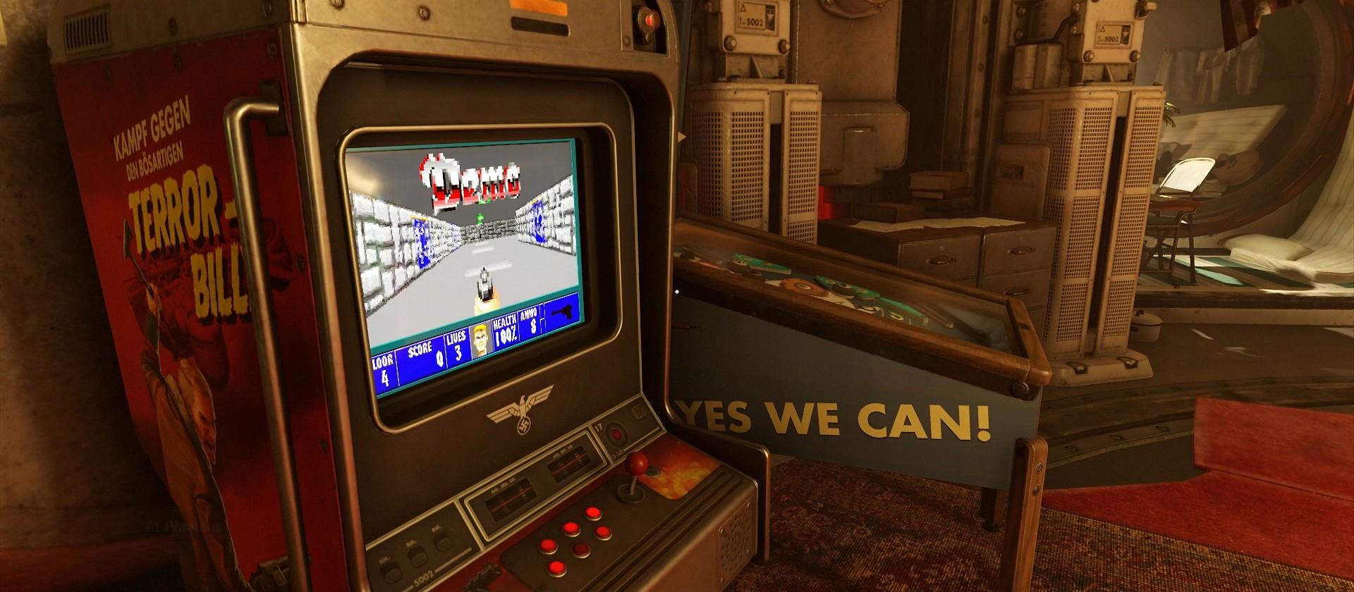 Une petite partie de Wolfenstein 3D ?