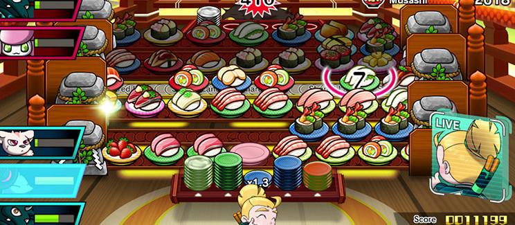 Sushi Striker : The Way of Sushido