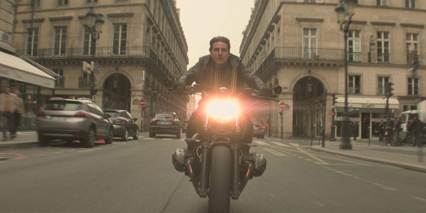 Tom en moto