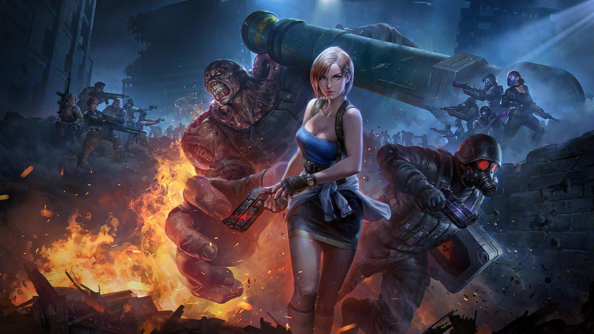 Resident Evil 3 Artwork