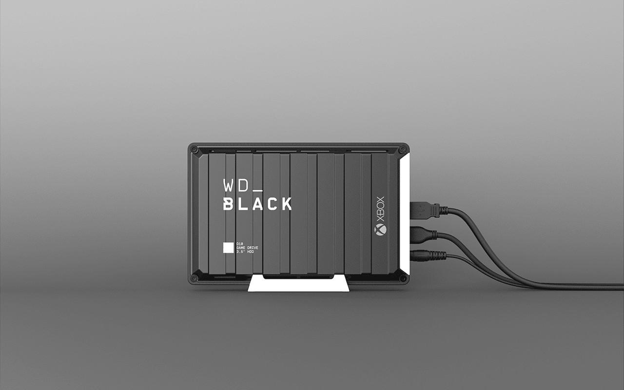 WD10 Black