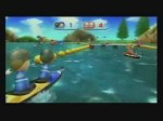 Wii Sport Resort - CANOE KAYAK - Play with Pros (Divers)