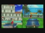 Wii Sports Resort - TABLE TENNIS - Play with Pros (Divers)