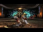 Mortal Kombat 9 ( MK 2011 ) - Kratos Combo Demonstration (Divers)