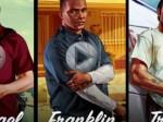GTA V - Michael. Franklin. Trevor. (Gameplay)