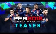 Premier trailer pour PES 2018 (Teaser)