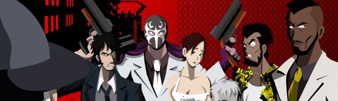 Killer 7 + PS2 = 2 images GameCube