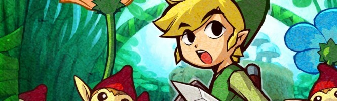 Zelda : The Minish Cap, le site officiel