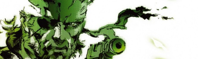 Une date pour MGS 3
