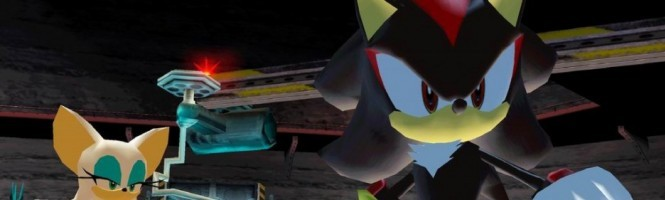 Shadow The Hedgegog vous fait coucou