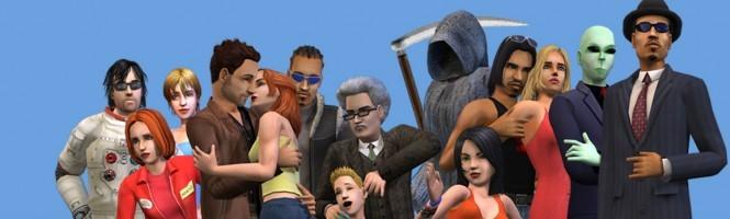 4 images des Sims sur PSP