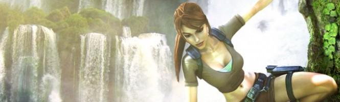 Lara prend la pose