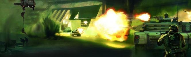 [E3 2005] BattleField 2 en action