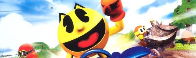 Pac-Man fait une partie de kart