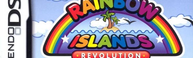 Rainbow Islands Revolution doré