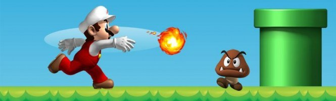 New Super Mario Bros s'offre le web !