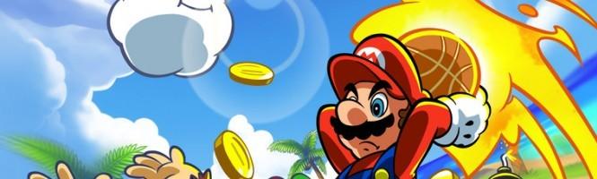 Mario Basket sous le feu des flashs