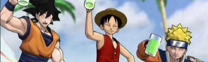 Goku, Naruto et Lufy réunis !
