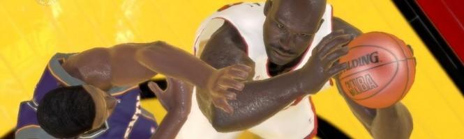NBA 2K7 et les mouvements