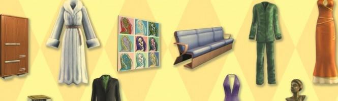 Sims2 : Kit Glamour, les nouveautés en images