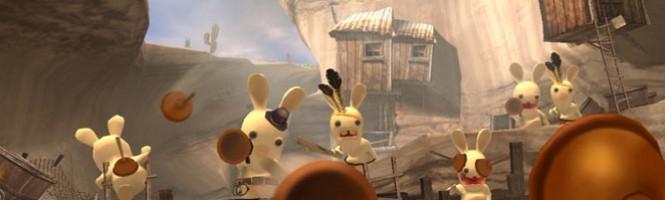 Les lapins crétins en auto-promo
