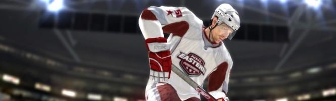 NHL 2K8 balance les screens