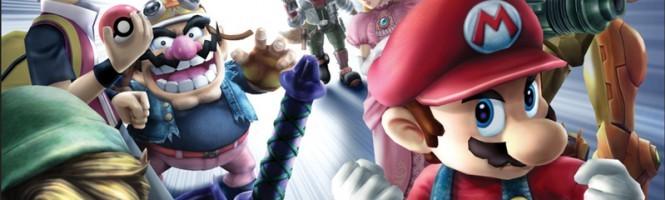 Smash Bros Brawl : Courir en italique et à l'horizontale