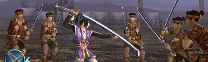 Samurai Warriors et la wiimote Katana