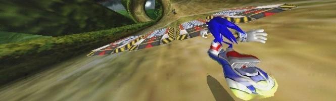 Sonic ne connaît pas la gravité