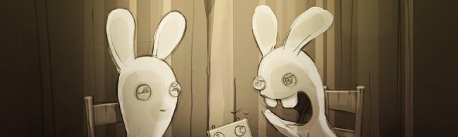 Les lapins crétins se prennent des claques.