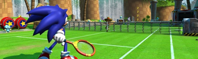 Sega a le Tennis en pension