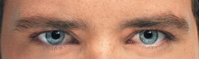 La gymnastique de les yeux