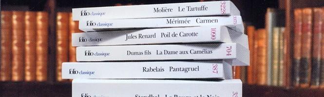 100 classiques de la littérature sur DS