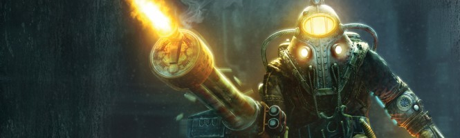 Bioshock 2, Big Daddy marche vers nous