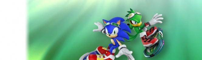 Une petite série pour Sonic Free Riders