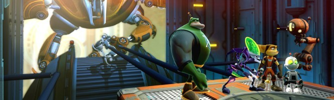 Quatre images pour Ratchet & Clank All 4 One