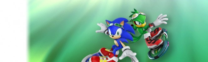 Vidéo de gameplay pour Sonic Free Riders
