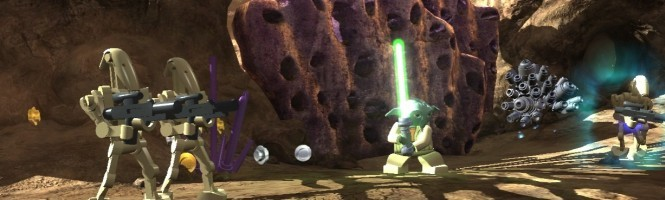 Lego Star Wars III en images se montre