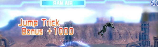 Aero Cross, le jeu futuriste super vieux