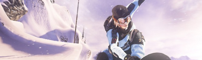 La poudreuse de SSX en artworks