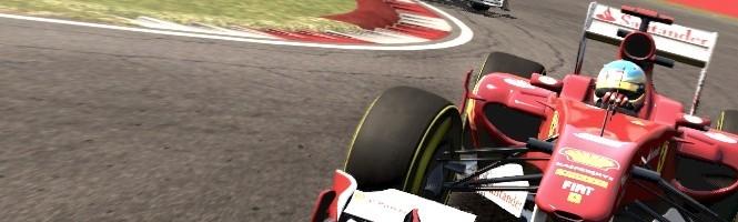 F1 2011 trace en images