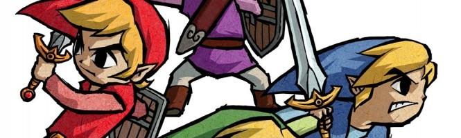 Zelda Four Swords Anniversary sur l'e Shop