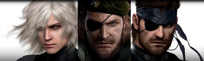 Metal Gear HD collection repoussé