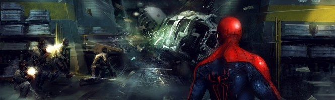 Premières images pour Amazing Spider-Man